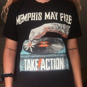 Memphis May fire shirt